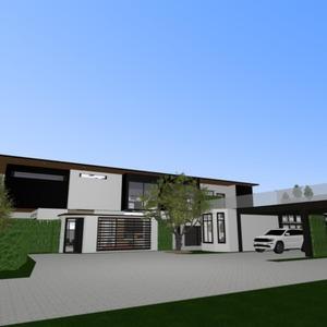 progetti cucina oggetti esterni paesaggio sala pranzo architettura 3d