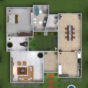 progetti casa oggetti esterni 3d