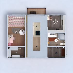 planos apartamento decoración bricolaje comedor 3d