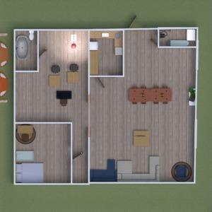 планировки квартира дом мебель ванная спальня 3d