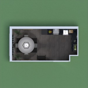 progetti arredamento cucina famiglia caffetteria architettura 3d