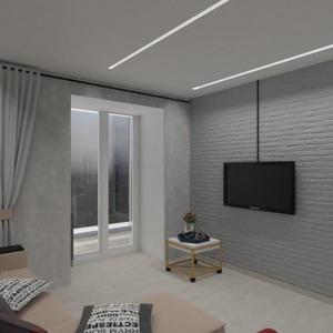 floorplans butas namas baldai svetainė virtuvė 3d
