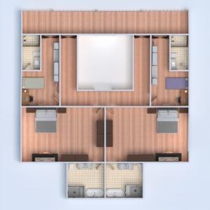 planos casa bricolaje paisaje arquitectura descansillo 3d
