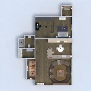 floorplans apartamento mobílias decoração faça você mesmo banheiro quarto quarto cozinha escritório iluminação reforma paisagismo utensílios domésticos cafeterias sala de jantar arquitetura despensa estúdio patamar 3d