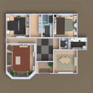 floorplans house terrace furniture decor diy living room 3d