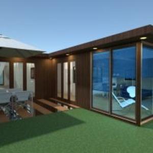 floorplans butas namas terasa аrchitektūra 3d