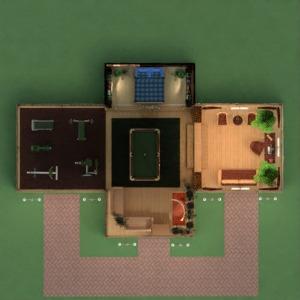 floorplans haus mobiliar dekor do-it-yourself badezimmer schlafzimmer wohnzimmer küche beleuchtung architektur lagerraum, abstellraum eingang 3d