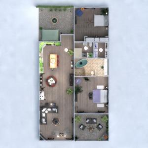 floorplans wohnung terrasse mobiliar dekor badezimmer schlafzimmer wohnzimmer küche outdoor beleuchtung haushalt esszimmer eingang 3d