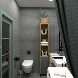 floorplans butas namas baldai vonia studija 3d