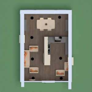 floorplans maison meubles décoration salon cuisine eclairage salle à manger architecture espace de rangement 3d