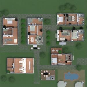 floorplans apartamento casa varanda inferior quarto quarto cozinha quarto infantil arquitetura 3d