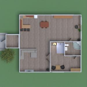 floorplans haus badezimmer schlafzimmer wohnzimmer küche 3d