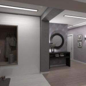 progetti appartamento casa ripostiglio monolocale vano scale 3d