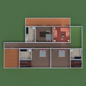 floorplans casa quarto garagem cozinha área externa iluminação sala de jantar arquitetura patamar 3d