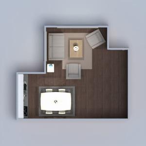 planos casa muebles salón cocina iluminación comedor arquitectura 3d