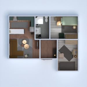 progetti appartamento casa arredamento bagno camera da letto saggiorno cucina illuminazione monolocale 3d