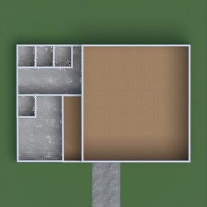 floorplans terasa dekoras kavinė 3d