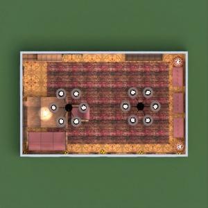 floorplans meble pokój dzienny wejście 3d