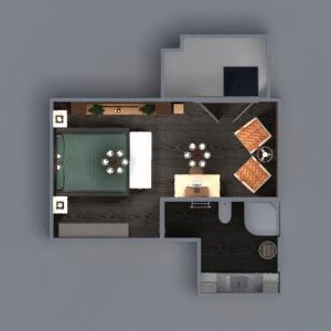 floorplans apartamento varanda inferior mobílias decoração faça você mesmo banheiro quarto quarto cozinha escritório iluminação reforma paisagismo utensílios domésticos cafeterias sala de jantar arquitetura despensa estúdio patamar 3d