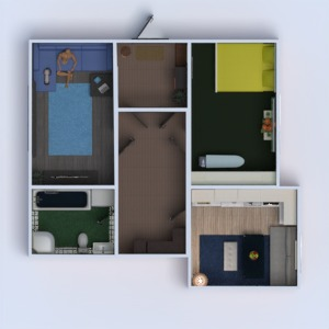 floorplans apartamento reforma 3d