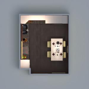 floorplans mobílias decoração cozinha iluminação utensílios domésticos despensa 3d