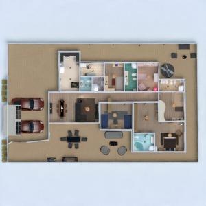 floorplans casa decoração banheiro quarto quarto garagem cozinha quarto infantil iluminação utensílios domésticos sala de jantar arquitetura patamar 3d