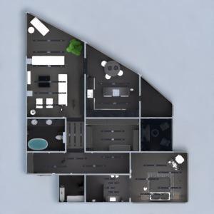 floorplans mieszkanie taras meble wystrój wnętrz łazienka sypialnia pokój dzienny kuchnia oświetlenie gospodarstwo domowe przechowywanie mieszkanie typu studio wejście 3d