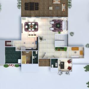 floorplans maison terrasse meubles décoration salle de bains chambre à coucher salon garage cuisine extérieur bureau eclairage paysage maison salle à manger architecture 3d