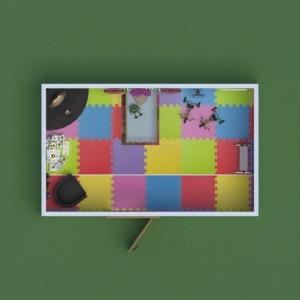 progetti decorazioni camera da letto cameretta 3d