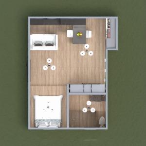 floorplans zrób to sam łazienka sypialnia pokój dzienny kuchnia mieszkanie typu studio 3d