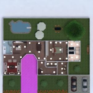 planos casa muebles decoración dormitorio cocina comedor 3d