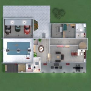 planos apartamento casa terraza muebles decoración cuarto de baño dormitorio salón garaje cocina exterior habitación infantil iluminación comedor arquitectura descansillo 3d