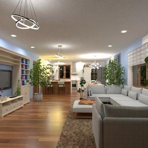 floorplans haus terrasse dekor outdoor beleuchtung 3d