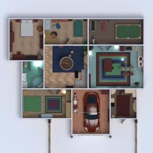 floorplans varanda inferior quarto garagem 3d