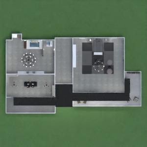 floorplans maison meubles salle de bains chambre à coucher salon cuisine extérieur eclairage maison salle à manger architecture espace de rangement entrée 3d