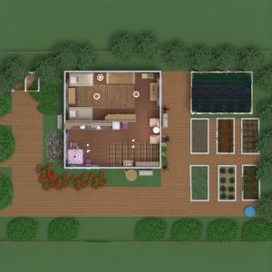 floorplans haus mobiliar dekor do-it-yourself schlafzimmer wohnzimmer küche beleuchtung landschaft lagerraum, abstellraum 3d