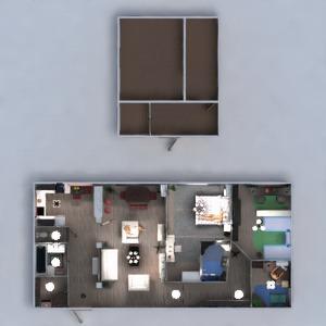 progetti appartamento arredamento bagno camera da letto saggiorno cucina cameretta illuminazione famiglia ripostiglio vano scale 3d