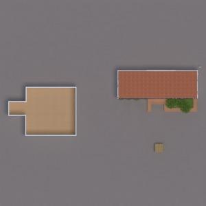 floorplans terrace furniture decor kitchen cafe 3d