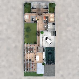 floorplans maison garage architecture 3d