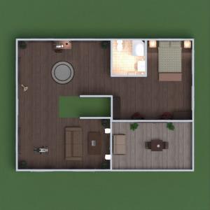 floorplans house furniture decor bedroom living room kitchen dining room entryway 3d