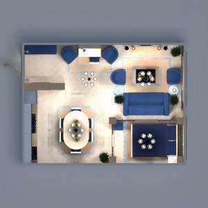 floorplans appartement meubles décoration diy chambre à coucher salon cuisine bureau eclairage rénovation maison salle à manger espace de rangement studio entrée 3d