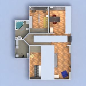 planos apartamento muebles decoración bricolaje cuarto de baño dormitorio salón cocina despacho iluminación reforma hogar trastero estudio descansillo 3d