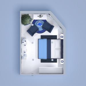 floorplans 公寓 装饰 卧室 3d