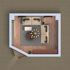 floorplans mobiliar dekor wohnzimmer büro beleuchtung 3d