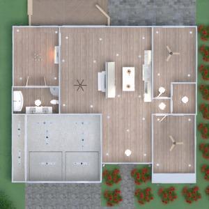 floorplans 独栋别墅 diy 景观 3d