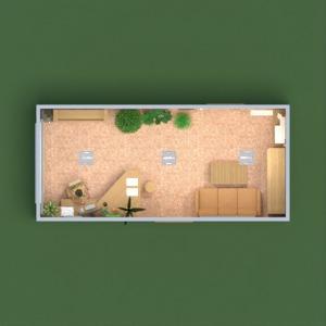 floorplans mobiliar dekor büro beleuchtung lagerraum, abstellraum 3d