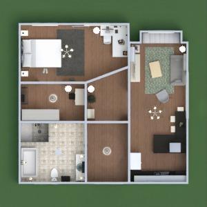 floorplans apartment house furniture decor bathroom bedroom living room kitchen 3d