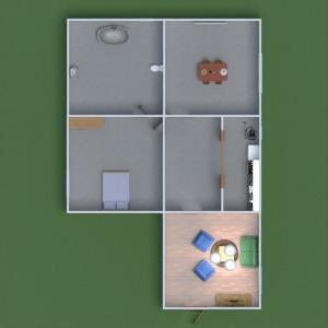 floorplans meubles eclairage 3d
