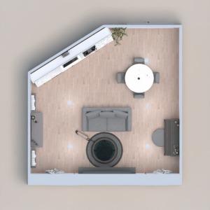 floorplans dekor wohnzimmer küche esszimmer 3d
