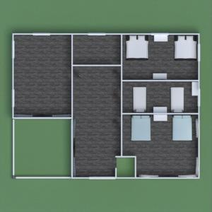 floorplans terrace bedroom living room landscape 3d